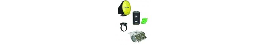 Spot Light and Light Bar Accessories
