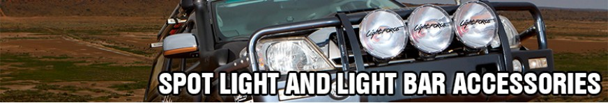 Spot Light and Light Bar Accessories