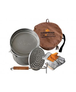 CAMPBOSS by All 4 Adventure Ultimate Camp Cooking Bundle (Pack)