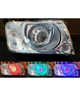 Aurora Custom Headlights Projector Headlight with RGB Demon Eyes
