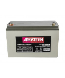 Supercharge AMP-TECH AGM 12V DEEP CYCLE 120AH