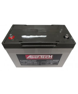 Supercharge AMP-TECH AGM 12V DEEP CYCLE 105AH