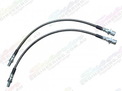 Brake Line Braided 2 Inch Rear Colorado RG/D-Max