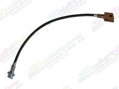 Brake Line Braided 2 Inch Front Patrol GQ