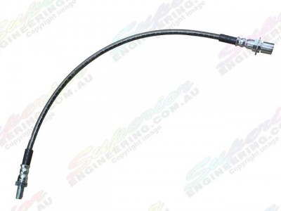 Brake Line Braided Rear Suitable For Landcruiser 105 Series