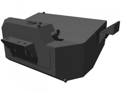 Brown Davis 100 Litre Auxiliary Long Range Fuel Tank Suitable For Holden Colorado 7 2012 on
