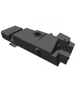 Brown Davis 145 Litre Replacement Long Range Fuel Tank Suitable For Nissan Navara NP300 Coil Rear 2015 on
