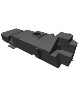 Brown Davis 145 Litre Replacement Long Range Fuel Tank Suitable For Nissan Navara NP300 Leaf Rear 2015 on