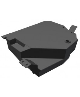 Brown Davis 110 Litre Auxiliary Long Range Fuel Tank Suitable For Nissan Pathfinder R51 2005 on (Each)