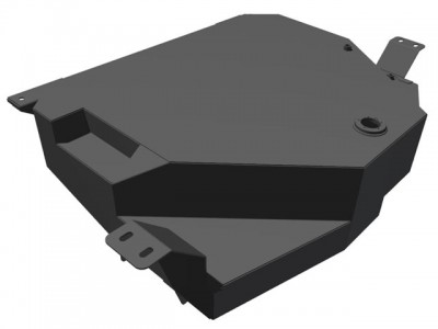Brown Davis 110 Litre Auxiliary Long Range Fuel Tank Suitable For Nissan Pathfinder R51 2005 on