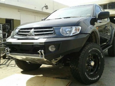 Rhino 4x4 Evolution 3D Winch Bar Suitable For Mitsubishi Triton MN