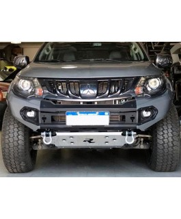 Rhino 4x4 Evolution 3D Winch Bar Suitable For Mitsubishi Triton MQ