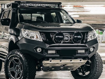 Rhino 4x4 Evolution 3D Winch Bar Suitable For Nissan Navara NP300