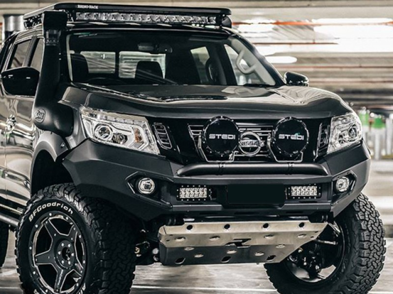 Rhino 4x4 Evolution 3d Winch Bar Suitable For Nissan