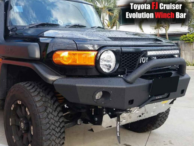 Rhino 4x4 evolution 3d winch bar suitable for toyota fj cruiser rhino 4x4 evolution 3d winch bar suitable for toyota fj cruiser black with light bar mount mozeypictures Choice Image