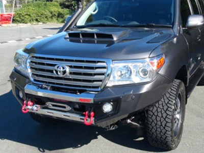 Rhino 4x4 Evolution 3D Winch Bar Suitable For Toyota Landcruiser 200 Series 2008-15