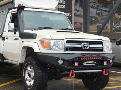 Rhino 4x4 Evolution 3D Winch Bar Suitable For Toyota Landcruiser 79 Series
