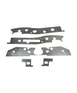 Superior Chassis Brace/Repair Plate Suitable For Mitsubishi Triton MQ Dual Cab Only (Kit)