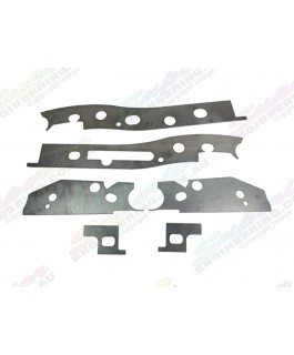 Superior Chassis Brace/Repair Plate Suitable For Mitsubishi Triton MQ Dual Cab Only