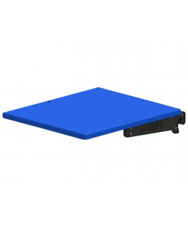 Clearview Easy Slide Clip-on Tray Suits MSA Drop Slides Blue 454mm x 390mm (Each)