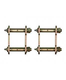 EFS Greasable Shackles Standard Height Rear