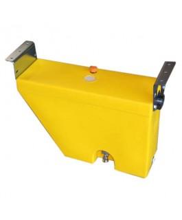Slimline Mudguard Diesel Fuel Tank 30Lt