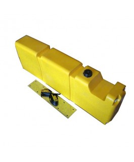 Long Diesel Fuel Tank 65Lt (with Mounting Kit)