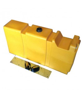 Long Diesel Fuel Tank 80Lt (with Mounting Kit)