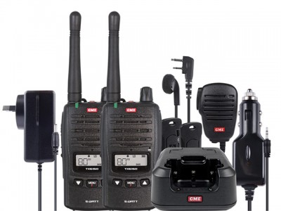 GME TX6150TP 5 Watt IP67 Handheld Comm-Kit