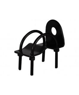 GME MB024B Antenna M/Bracket, Bull Bar R/Angle (black)