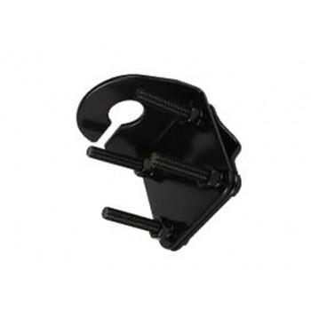 GME MB411B Antenna M/Bracket, mirror mount with slot (black)