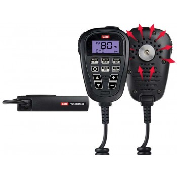 GME TX3350UVP Compact UHF CB Radio Ultimate Value Pack