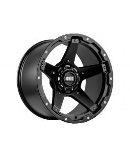 Grid Offroad GD04 Wheel Matt Black 17x9 -12 Offset PCD5/150 (Each)
