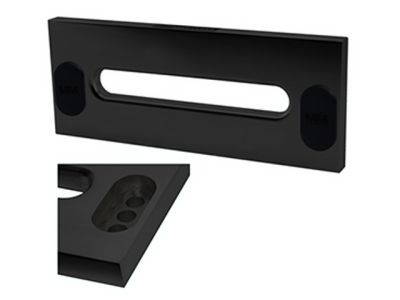 Mean Mother Alloy Fairlead - Multiple Offset (Black)