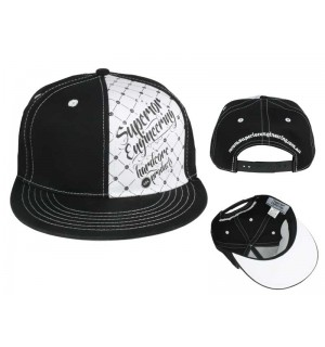 Superior Engineering Flat Brim Cap(Snap Back)