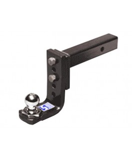 Hayman Reese Interlock Trailer Ball Mount with Adjustable 5 Hole and Towball
