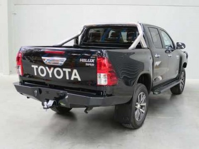 Ironman 4x4 Rear Protection Tow Bar - Hilux Revo 2015 on