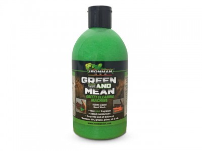 Ironman 4x4 Green and Mean Gritty Hand Cleaner