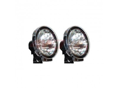 Ironman 4x4 Vega 100W Halogen 9 Inch Driving Lights (Pair)