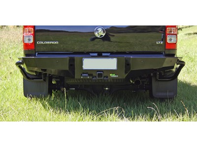 Ironman 4x4 Rear Protection Tow Bar Suitable For Holden Colorado 2012 on