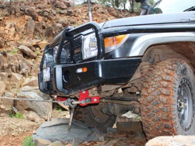 Ironman 4x4 Recovery Point - Suitable For Toyota Landcruiser 70 Series