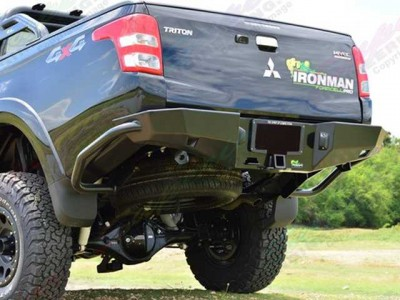 Ironman 4x4 Rear Protection Tow Bar - Mitsubishi Triton MQ