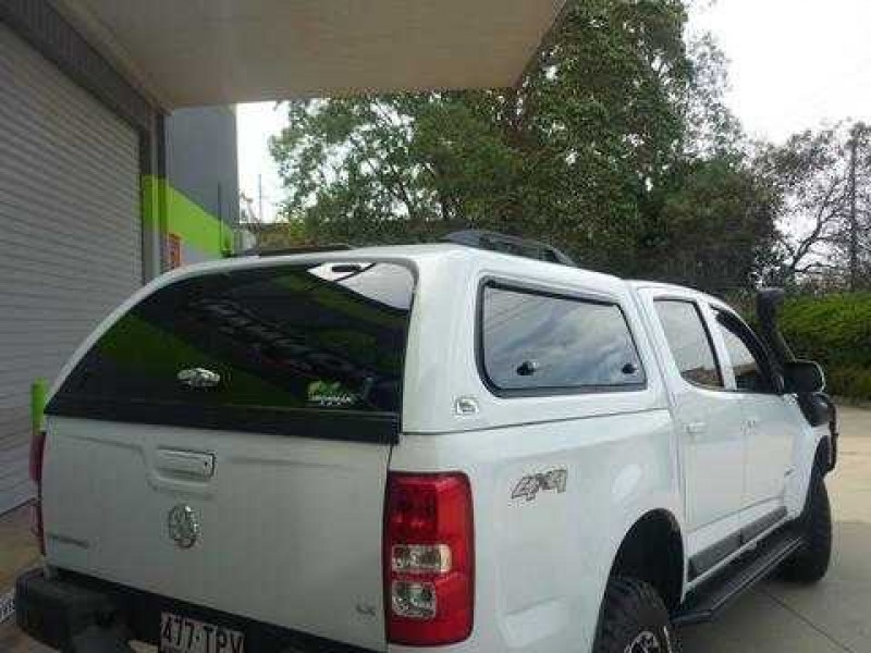 Ironman 4x4 Ute Canopy - Holden Colorado 2012 on (Round Profile) & Ironman 4x4 Ute Canopy - Holden Colorado 2012 on (Round Profile ...