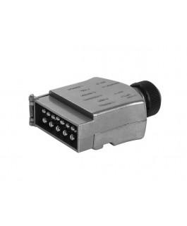 KT Cables 12 Pin Male Trailer Plug Non LED