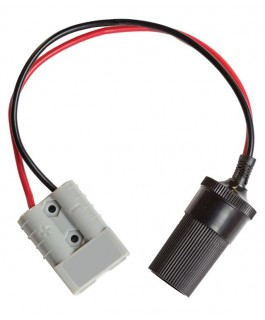 KT Cables 50A Plug To 15A Cig. Socket Lead 30cm (Each)