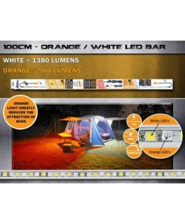 KORR LED Camp Light 100cm Orange/White LED kit