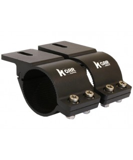 Korr Bull Bar Brackets 49-54mm (Black) (Each)