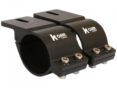 Korr Bull Bar Brackets 76-81mm (Black)