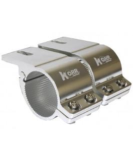 Korr Bull Bar Brackets 76-81mm (Chrome)