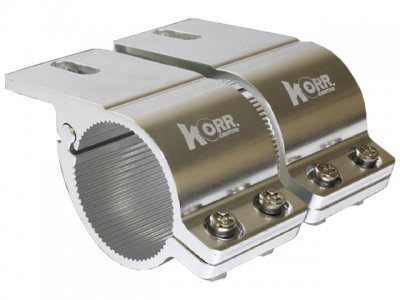 Korr Bull Bar Brackets 66-71mm (Chrome)